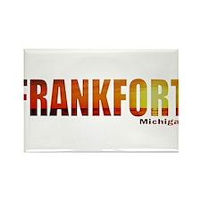 Frankfort, Michigan Rectangle Magnet