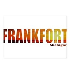 Frankfort, Michigan Postcards (Package of 8)