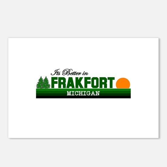 Its Better in Frankfort, Mich Postcards (Package o