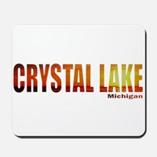 Crystal Lake, Michigan Mousepad