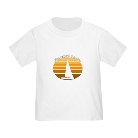 Crystal Lake, Michigan Toddler T-Shirt