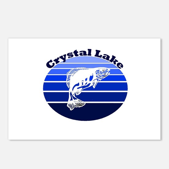 Crystal Lake, Michigan Postcards (Package of 8)