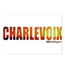 Charlevoix, Michigan Postcards (Package of 8)