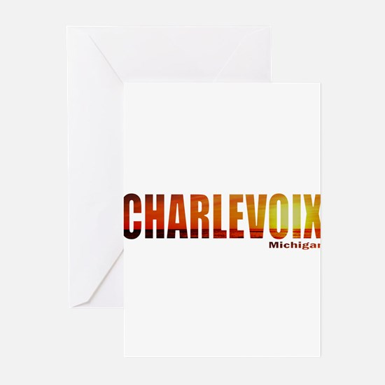 Charlevoix, Michigan Greeting Cards (Pk of 10)
