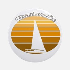 Charlevoix, Michigan Ornament (Round)