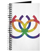 GAY PRIDE RAINBOW-TRIBAL Journal