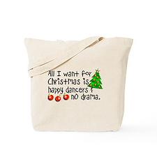 Dance Teacher Christmas Tote Bag