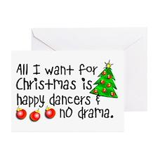 Dance Teacher Christmas Greeting Cards (Pk of 20)
