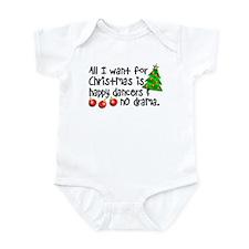 Dance Teacher Christmas Infant Bodysuit