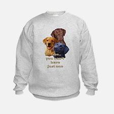 Three Labs Sweatshirt