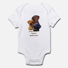 Three Labs Infant Bodysuit