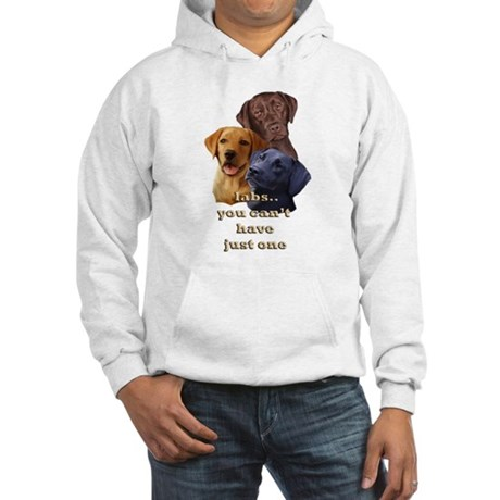 Three Labs Hooded Sweatshirt