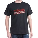 Tonga Rocks Dark T-Shirt