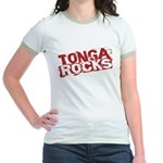 Tonga Rocks Jr. Ringer T-Shirt