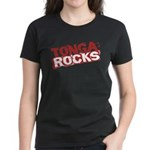Tonga Rocks Women's Dark T-Shirt