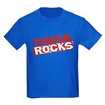 Tonga Rocks Kids Dark T-Shirt