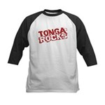 Tonga Rocks Kids Baseball Jersey