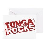 Tonga Rocks Greeting Cards (Pk of 10)