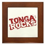 Tonga Rocks Framed Tile