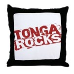 Tonga Rocks Throw Pillow