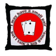 Small Pair Throw Pillow