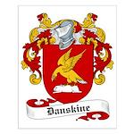 Danskine Family Crest Small Poster