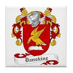 Danskine Family Crest Tile Coaster