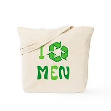 I Recycle Men Tote Bag