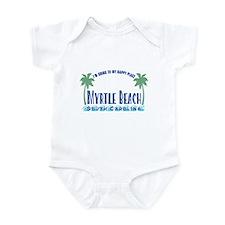 Myrtle Beach Happy Place - Infant Bodysuit