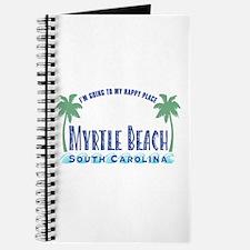 Myrtle Beach Happy Place - Journal