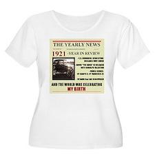 born in 1921 birthday gift T-Shirt