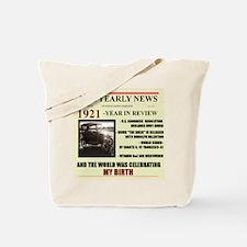 born in 1921 birthday gift Tote Bag