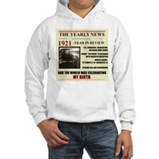 born in 1921 birthday gift Hoodie