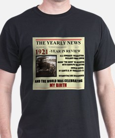 born in 1921 birthday gift T-Shirt