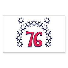 USA 76 Rectangle Decal