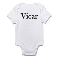 "Instant ""Vicar"" Costume Infant Creeper"