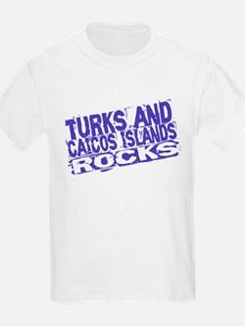 Turks and Caicos Island Rocks T-Shirt