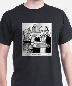 Gothic Computer T-Shirt