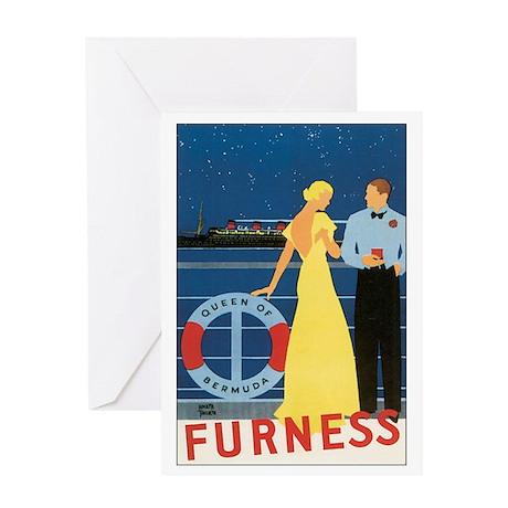 Bermuda Queen Greeting Card