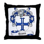 Deans Family Crest Throw Pillow