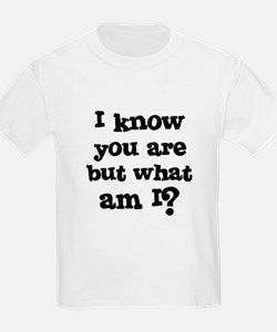 I know you are but what am I? Kids T-Shirt