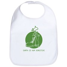 EARTH IS OUR DIRECTIVE Bib