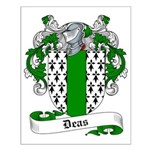 Deas Family Crest Small Poster