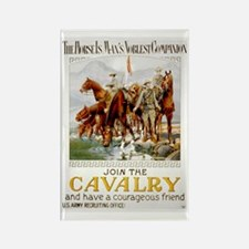 Join the Cavalry Rectangle Magnet