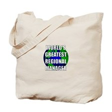 World's Greatest Regional Man Tote Bag