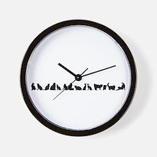 Silhouetteline Wall Clock