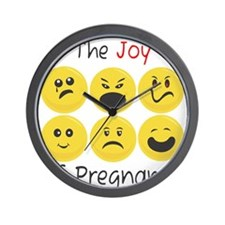 Joy of Pregnancy Wall Clock