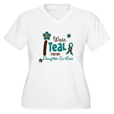 I Wear Teal For My Daughter-In-Law 12 T-Shirt