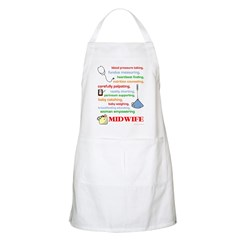 Midwife/ Job Description BBQ Apron