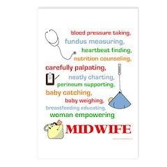 Midwife/ Job Description Postcards (Package of 8)